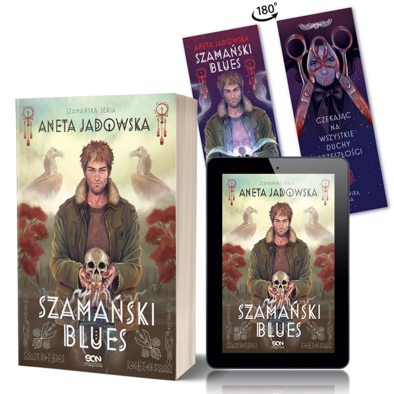 Zdjęcie pakietu Szamański blues (Witkacy 1) + e-book (Zakładka gratis) w księgarni SQN Store