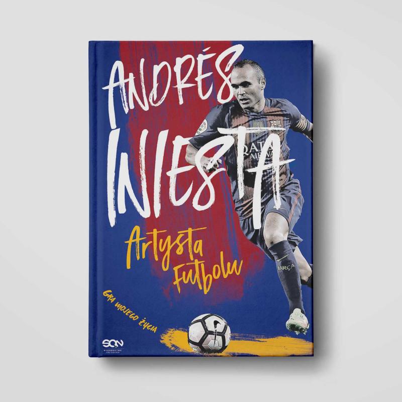 Okładka książki Andres Iniesta. Artysta futbolu. Gra mojego życia w SQN Store front