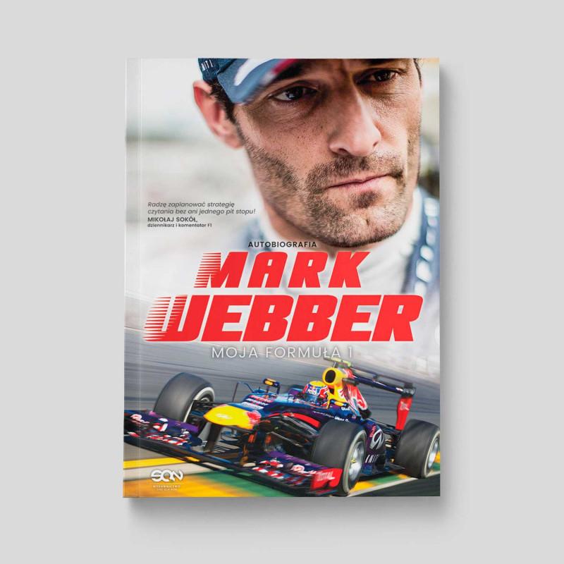 Okładka książki Mark Webber. Moja Formuła 1 w SQN Store front