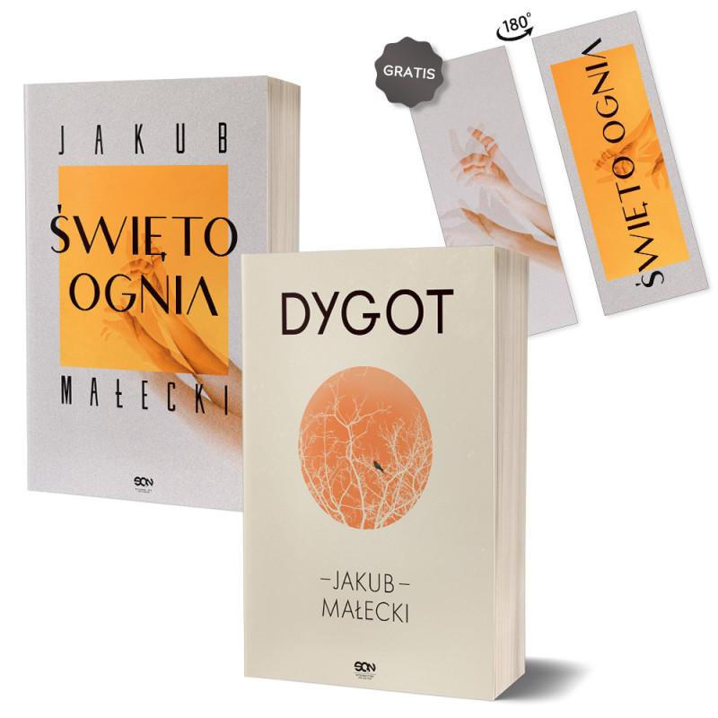 Zdjęcie pakietu Święto ognia (zakładka gratis) + Dygot (nowe wydanie) w księgarni SQN Store