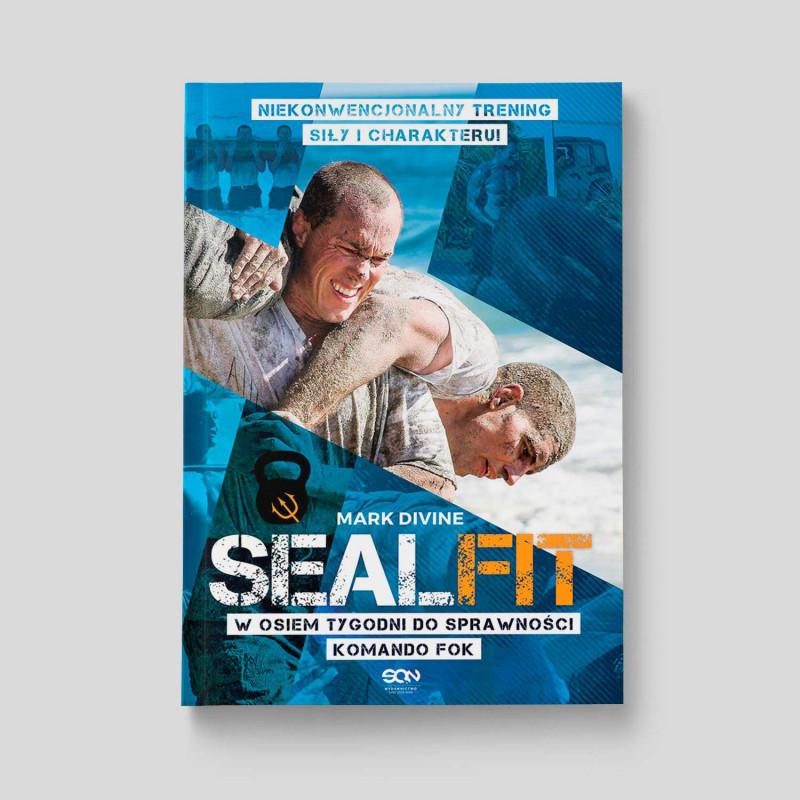 Okładka książki SEALFIT. W osiem tygodni do sprawności Komando Fok w SQN Store front