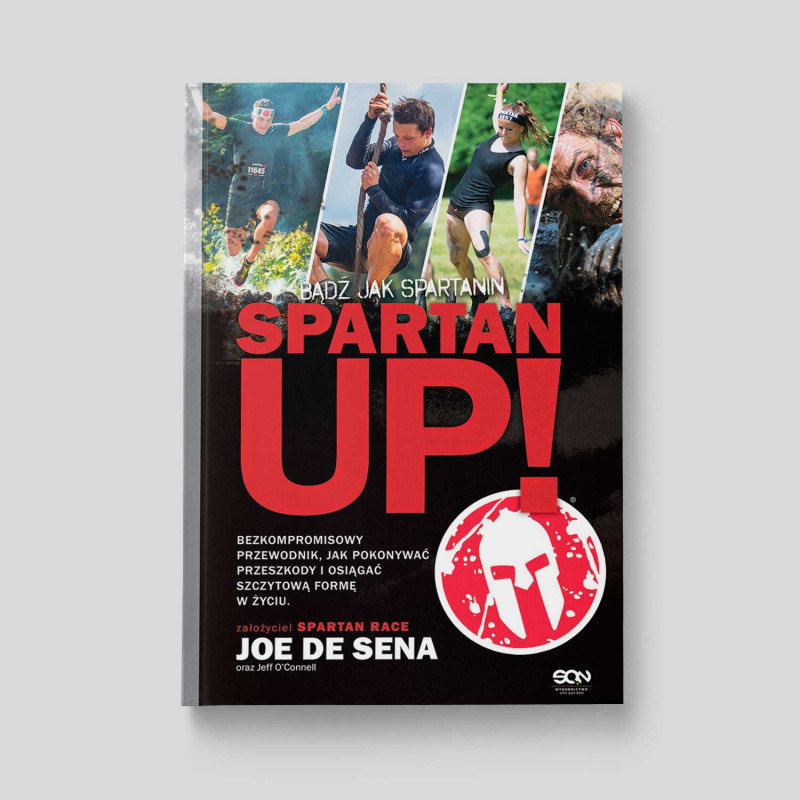 Okładka książki Spartan Up! Bądź jak Spartanin w SQN Store front