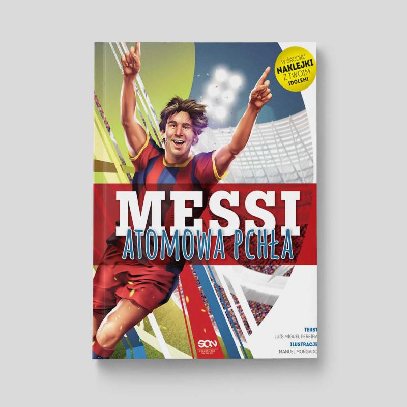 Okładka książki Messi. Atomowa pchła w SQN Store front