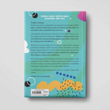 Okładka książki Zaczarowany Świat Sary. 52 challenge w księgarni SQN Store
