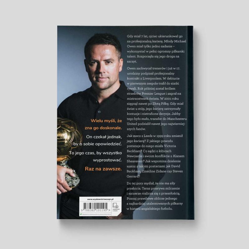 Okładka książki SQN Originals: Michael Owen. Reset. Któregoś dnia wszystko się kończy w księgarni SQN Store