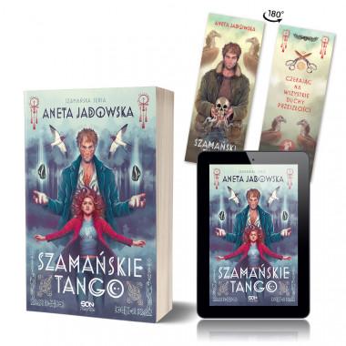 Zdjęcie pakietu Szamańskie tango + e-book + zakładka gratis w księgarni SQN Store