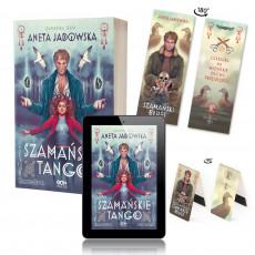 Zdjęcie pakietu Szamańskie tango + e-book + + zakładka magnetyczna (zakładka papierowa gratis) w księgarni SQN Store