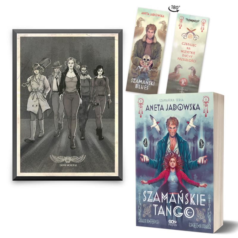 Zdjęcie pakietu Szamańskie tango (zakładka gratis) + plakat Dora w księgarni SQN Store