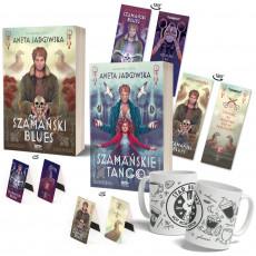 Zdjęcie pakietu Szamański blues (zakładka gratis) + Szamańskie tango (zakładka gratis) + Kubek + Zakładki magnetyczne