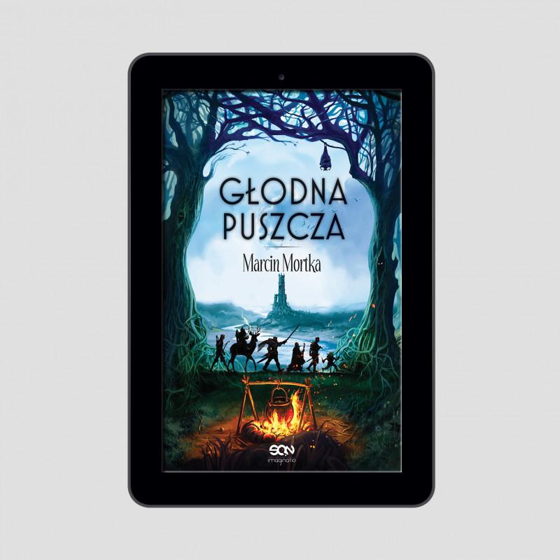 Okładka e-booka Głodna Puszcza w księgarni SQN Store
