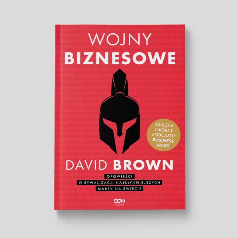 Okładka książki Wojny biznesowe w księgarni SQN Store
