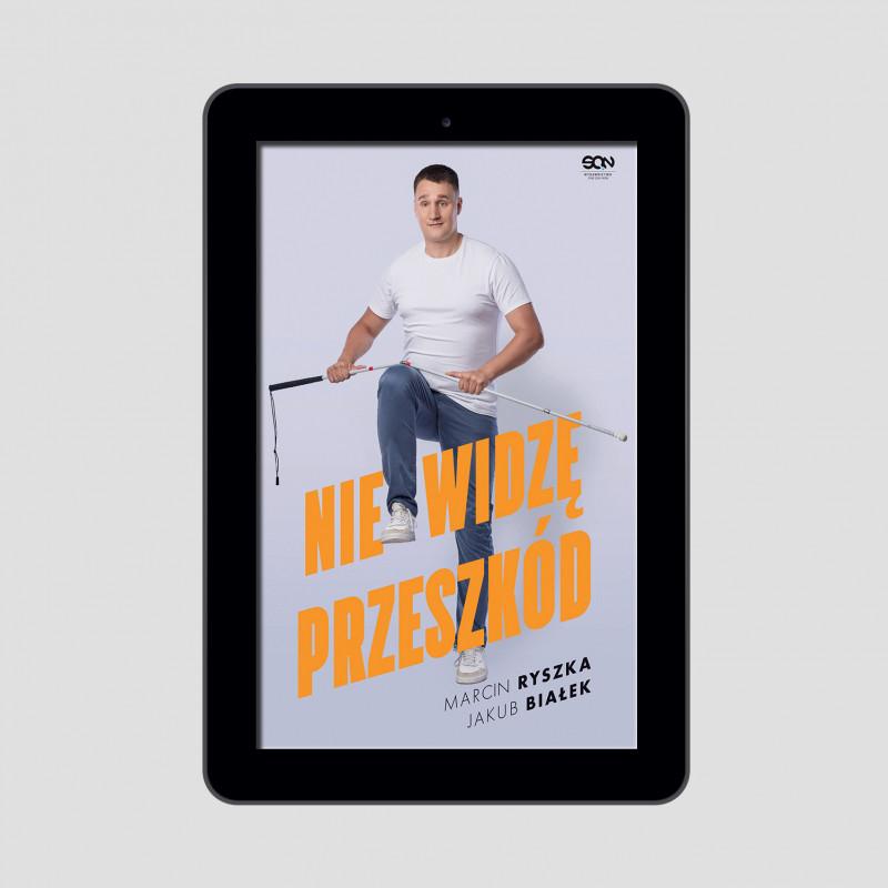 Okładka e-booka Nie widzę przeszkód w księgarni SQN Store