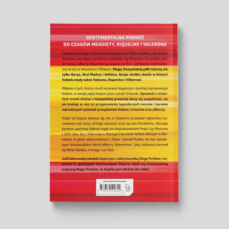 Okładka książki Hiszpańskie drużyny, które zadziwiły świat w księgarni SQN Store