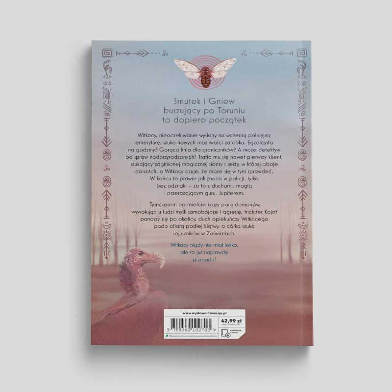 Okładka książki Szamański twist (Trylogia szamańska 3) w księgarni SQN Store