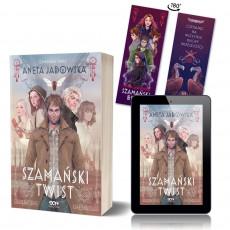 Zdjęcie pakietu Szamański twist + e-book (zakładka Kobiety gratis) w księgarni SQN Store