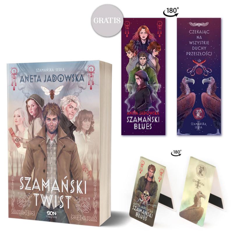 Zdjęcie pakietu Szamański twist + Zakładka magnetyczna Witkacy (zakładka gratis) w księgarni SQN Store