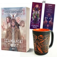 Zdjęcie pakietu Szamański twist + kubek literacki (zakładka Kobiety gratis) w księgarni SQN Store