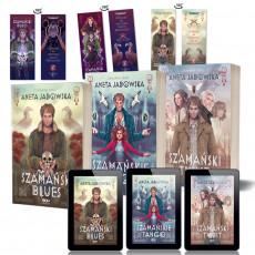 Zdjęcie pakietu Trylogia szamańska - wszystkie tomy + e-booki (zakładki papierowe gratis) w księgarni SQN Store