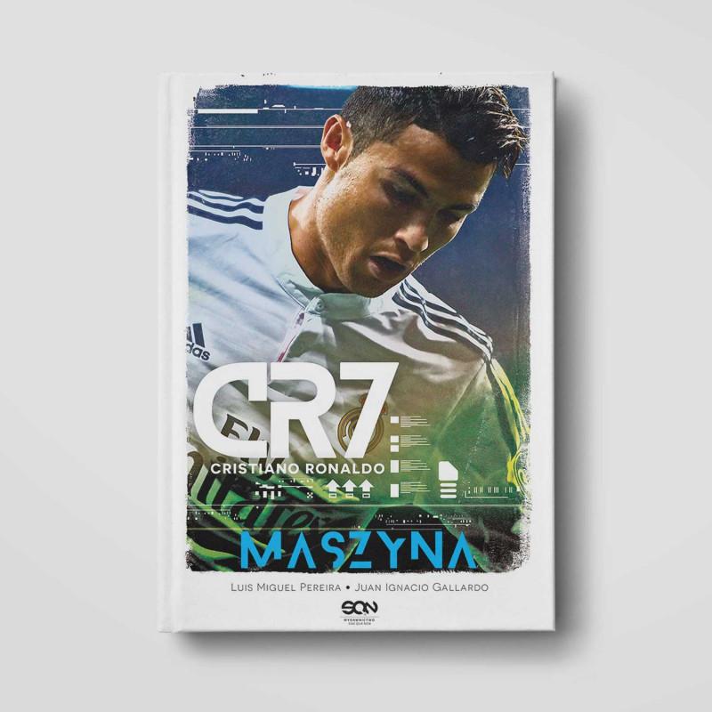 Okładka książki CR7. Maszyna w SQN Store front