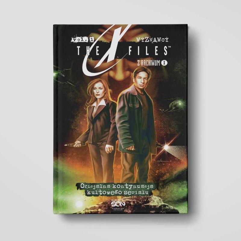 Okładka książki Z Archiwum X. Wyznawcy w SQN Store front