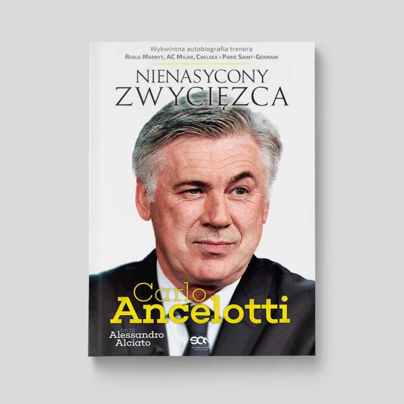 Okładka książki Carlo Ancelotti. Nienasycony zwycięzca w SQN Store front