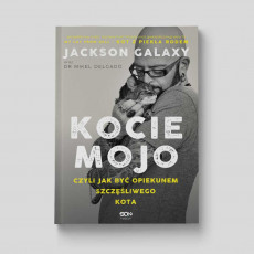 Okładka książki Kocie mojo Jackson Galaxy dr Mikel Delgado Bobby Rock w SQN Store front