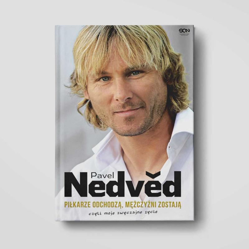 Okładka książki Pavel Nedvěd. Piłkarze odchodzą, mężczyźni zostają. Czyli moje zwyczajne życie w SQN Store front