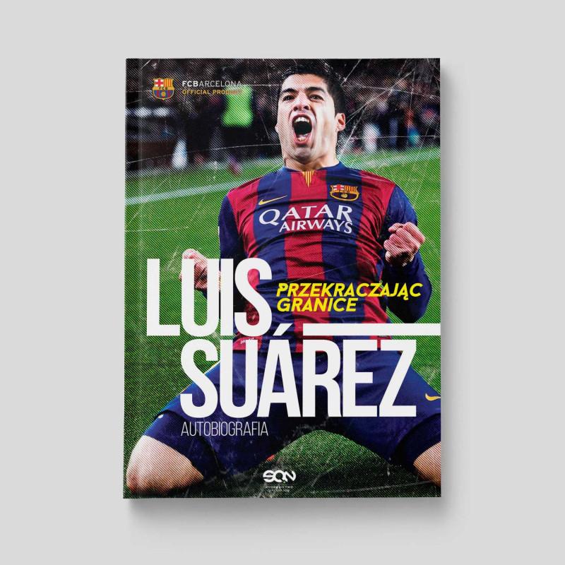Okładka książki Luis Suarez. Przekraczając granice. Autobiografia w SQN Store front