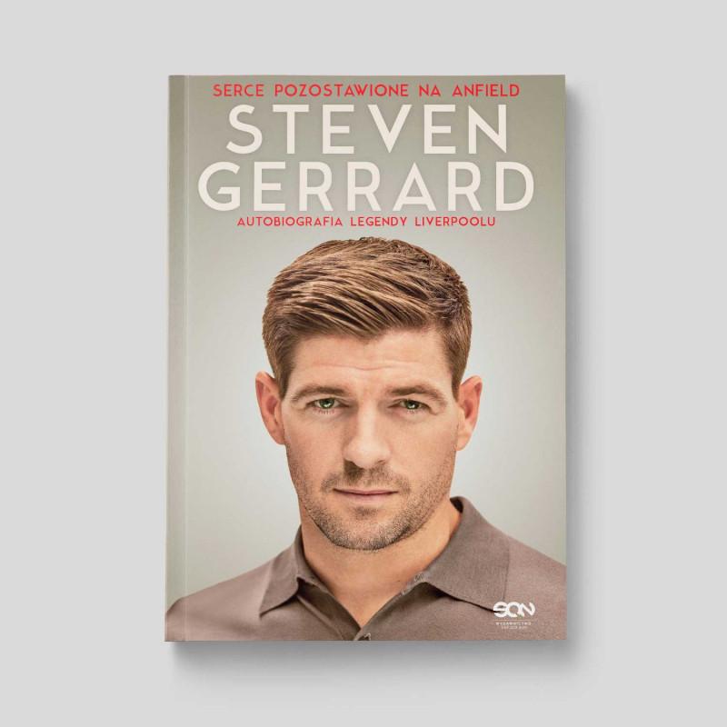 Okładka książki Steven Gerrard. Autobiografia legendy Liverpoolu w SQN Store front