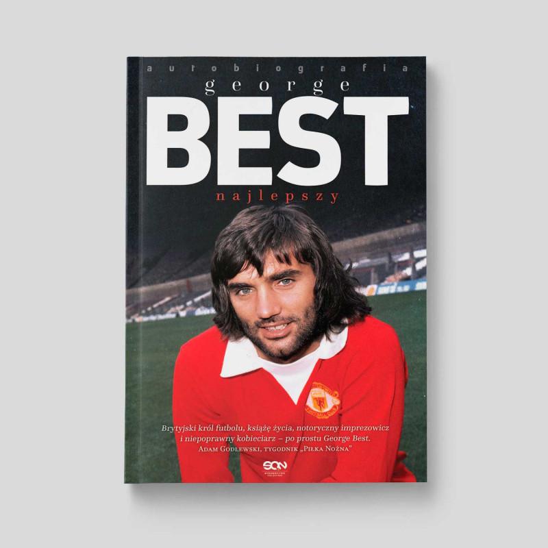 Okładka książki George Best. Najlepszy. Autobiografia w SQN Store front