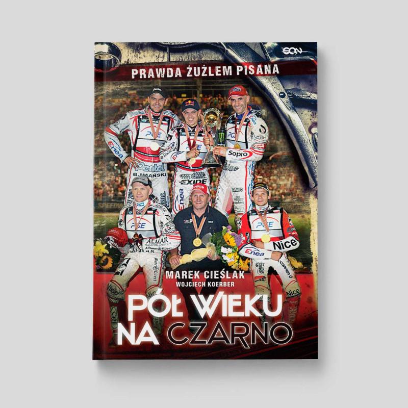 Okładka książki Marek Cieślak. Pół wieku na czarno w SQN Store front