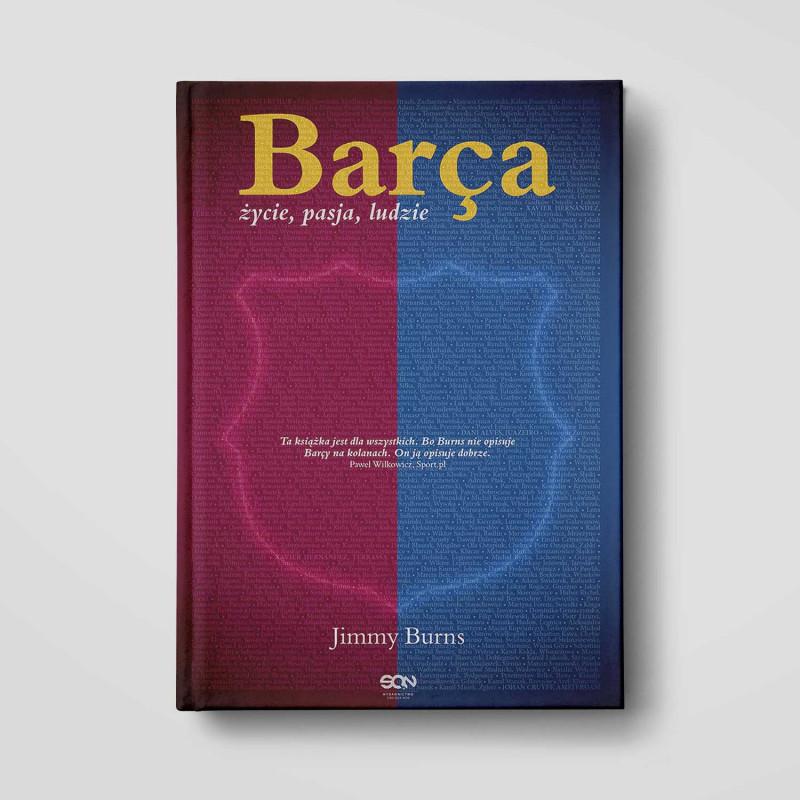 Okładka książki Barca. Życie, pasja, ludzie. Wydanie 2 w SQN Store front