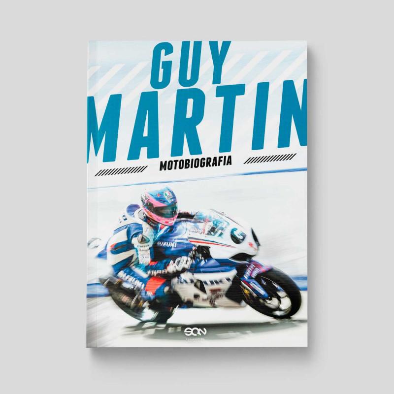 Okładka książki Guy Martin. Motobiografia w SQN Store front