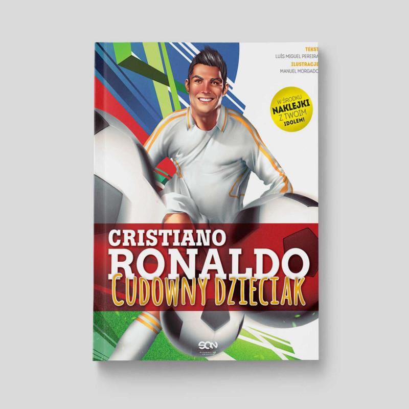 Okładka książki Cristiano Ronaldo. Cudowny dzieciak w SQN Store front