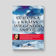 Okładka książki Ucieczka z krainy wiecznego śniegu w SQN Store front