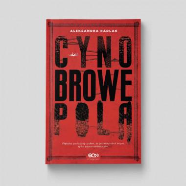 Okładka książki Cynobrowe pola SQN Store front
