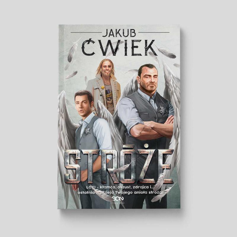 Okładka książki Stróże Jakub Ćwiek w SQNstore front