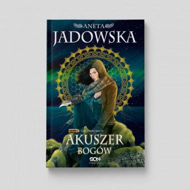 Okładka książki Akuszer Bogów. Tom 2 serii Nikity w SQN Store front