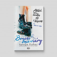 Okładka książki Bogini niewiary. Ateiści, którzy modlą się i klęczą Tarryn Fisher w SQNstore front