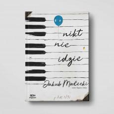 Okładka książki Nikt nie idzie z serii SQN Originals, Jakuba Małeckiego w SQN Store front
