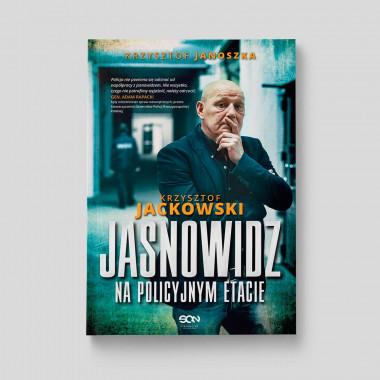 Okładka książkiJasnowidz na policyjnym etacie Krzysztof Jackowski w SQNstore front