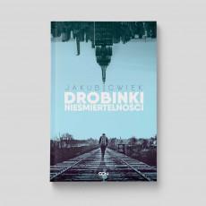 Okładka książki Drobinki nieśmiertelności w SQN Store front