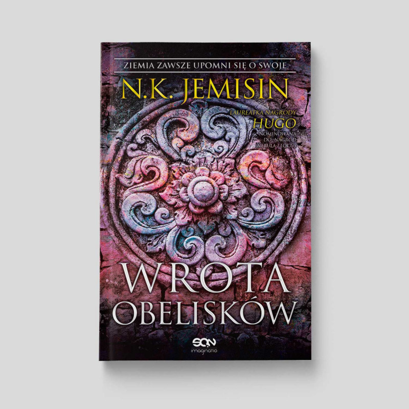 Okładka książki Wrota obelisków w SQN Store front