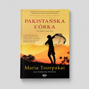Okładka książki Pakistańska córka w SQN Store front