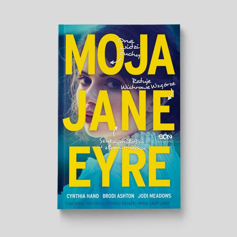 Okładka książki Moja Jane Eyre w SQNstore front