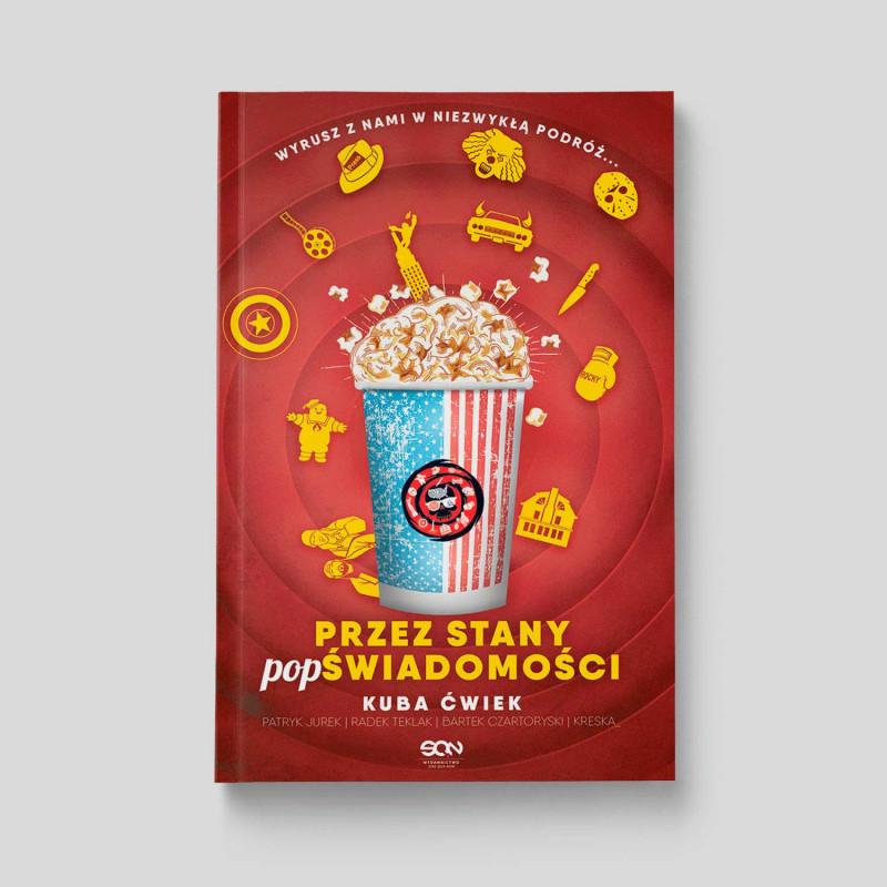 Okładka książki Przez stany POPświadomości w SQN Store front