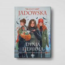 Okładka książki Dynia i jemioła. Nietypowe historie świąteczne w SQNstore front