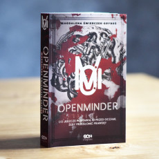 Książka Openminder. Tom 1. Koty w SQN Store