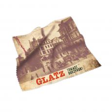 """Gadżet czytelniczy ściereczka do okularów lub smartfona z książki """"Glatz"""" w SQN Store"""