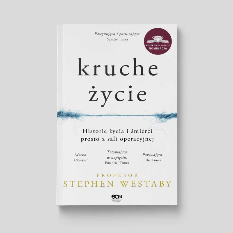 """Okładka książki """"Kruche życie"""" w SQN Store"""